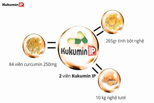 sinh khả dụng curcumin