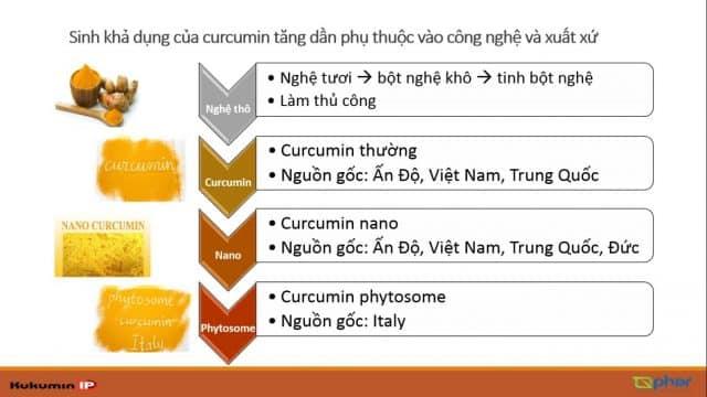 cong nghe nano, cong nghe phytosome, curcumin phytosome, nano curcumin,