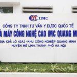 Giới thiệu về nhà sản xuất: Công ty Tư vấn Y dược Quốc tế IMC