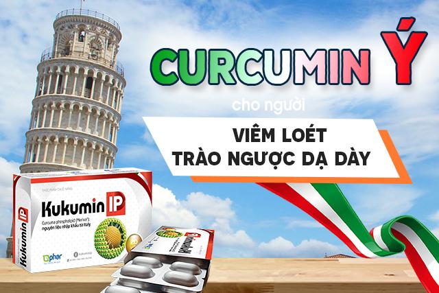 Curcumin Ý là một thành tựu của các nhà khoa học Italia đã nhận được 3 bằng sáng chế toàn cầu giúp tăng hấp thu hoạt chất curcumin lên 31,5 lần so với các dạng nghệ thông thường.