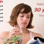 Dùng PPI trước khi ăn cho hiệu quả tốt hơn