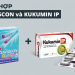 Thuốc dạ dày Gaviscon kết hợp với kukumin IP có được không?