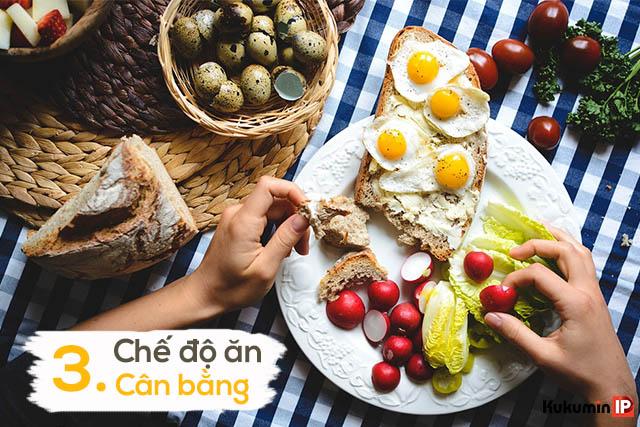 Chế độ ăn cân bằng - là chế độ ăn tùy thuộc vào nhu cầu của mỗi người