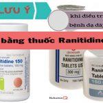 Thuốc ranitidine điều trị bệnh dạ dày