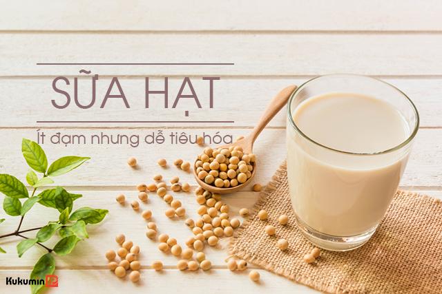 trào ngược dạ dày có nên uống sữa hạt