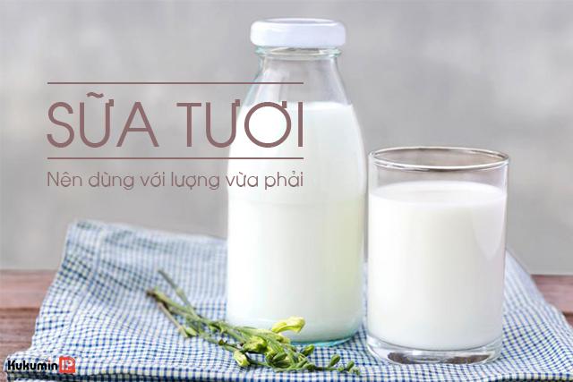 trào ngược dạ dày có nên uống sữa tươi