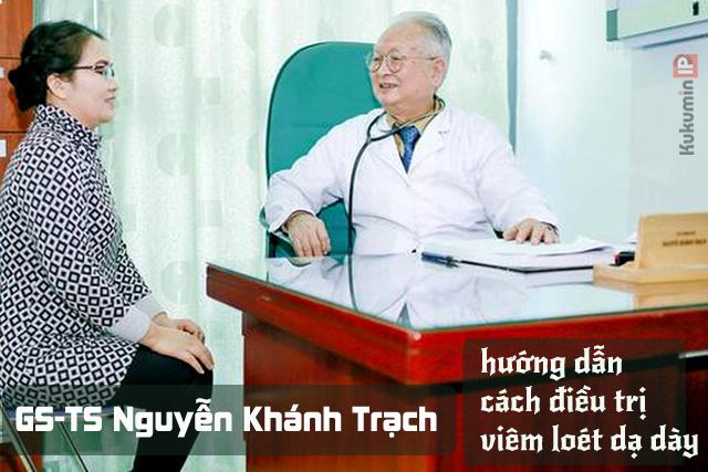 tsgs Nguyễn Khánh Trạch hướng dẫn dùng thuốc điều trị viêm loét dạ dày