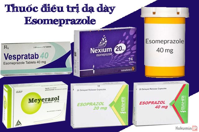 thuốc điều trị dạ dày Esomeprazole