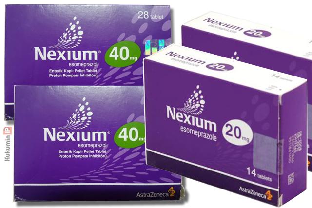 thuốc điều trị trào ngược dạ dày Nexium