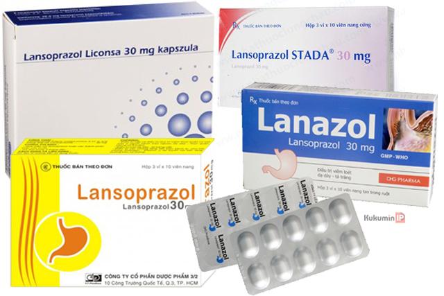 Lansoprazole để điều trị viêm loet trào ngược dạ dày