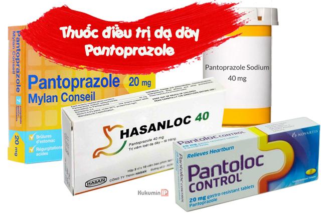 thuốc điều trị dạ dày Pantoprazole