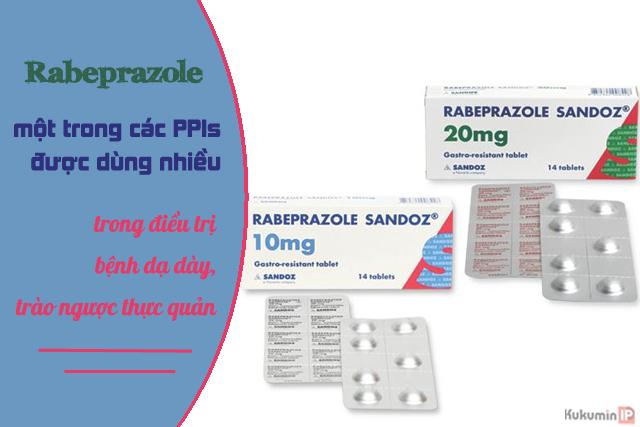 Thuốc giảm tiết acid dạ dày Rabeprazole 2