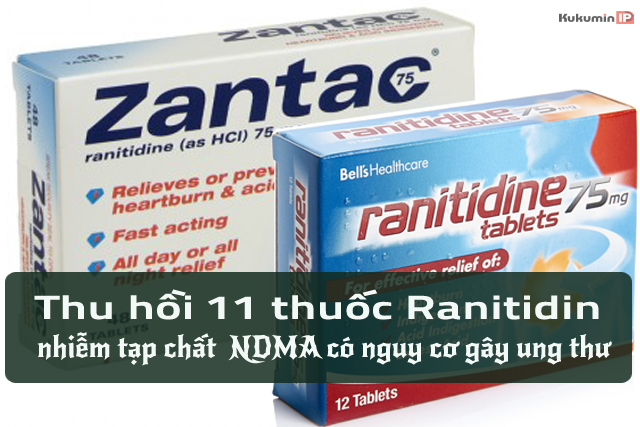 thu hồi thuốc ranitidin