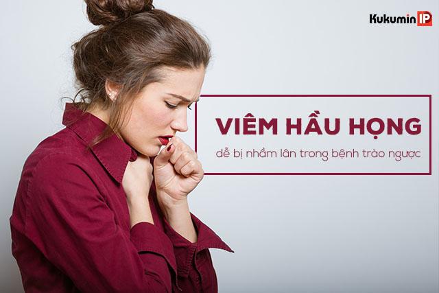 Vướng nghẹn ở cổ và các triệu chứng viêm hầu họng trong trào ngược dễ bị nhầm lẫn sang bệnh khác